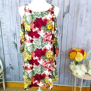 World Market Cold Shoulder Dress Size S/M